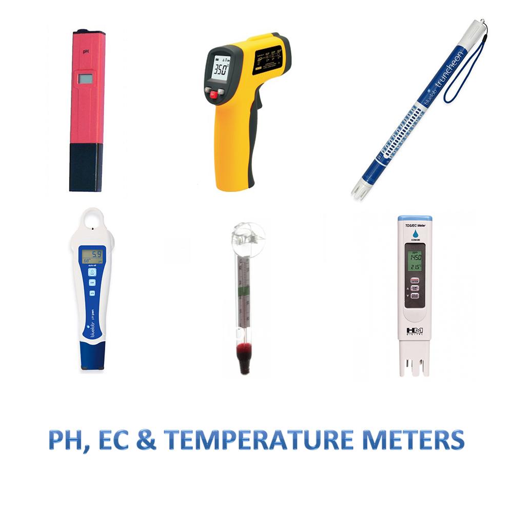 EC, PH, Temp Meters