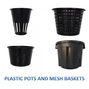 Plastic Pots/Mesh Baskets